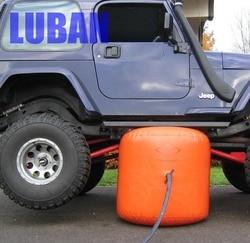 NEW ARRIVAL 3 Ton 4 Ton wydechowy podnośnik air jack i nadmuchiwane gniazdo spalin i pompa 2 w 1 jack w Części pneumatyczne od Majsterkowanie na