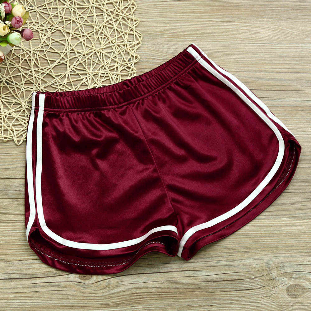 YOUYEDIAN Fashion Casual Shorts Vrouw Zomer 2019 Stretch Hoge Taille Booty Shorts Vrouwelijke Zwart Wit Losse Sexy Korte # w30