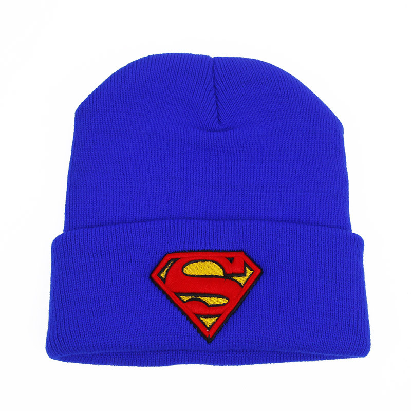 New Superman Beanie Thick Cotton Hat Winter Hats for Women and Men Skullies  Beanies 1532-in Skullies   Beanies from Apparel Accessories on  Aliexpress.com ... 6c300fa0e75