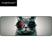 Large Mouse Pad Cat Mouse Pad Computer Keyboard Desk Mouse Mat Non-Slip Mouse pad For Gamer Extended Speed цена и фото