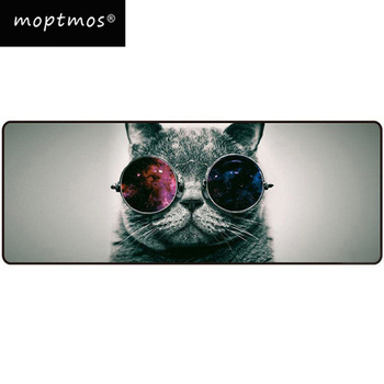 цена Large Mouse Pad Cat Mouse Pad Computer Keyboard Desk Mouse Mat Non-Slip Mouse pad For Gamer Extended Speed онлайн в 2017 году