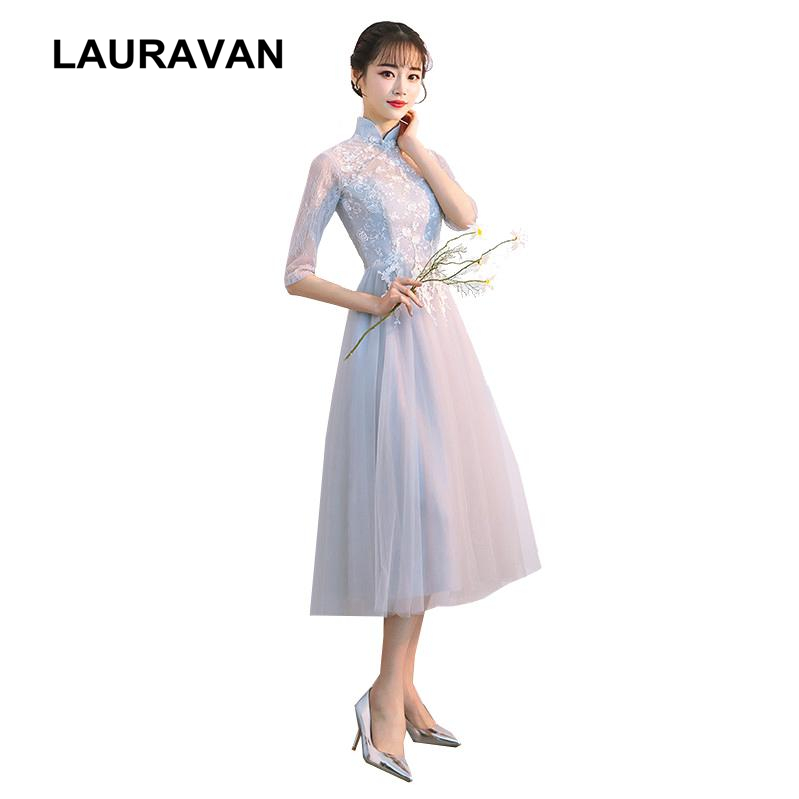 Elegant Sweetheart High Neck Lace Tulle Short Tea Party Ball Gown Special Occasion Dress Bridesmaid Occassion Dresses For Party