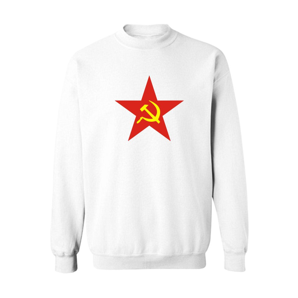 2018 CCCP Soviet Union Mens Hoodies Black Cotton with USSR Sweatshirt Men Band Fashion White for Couples Streetwear XXS-4XL