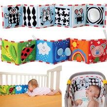 Bebek oyuncakları beşik tampon yenidoğan bez kitap bebek çıngıraklar bilgi etrafında çoklu dokunmatik renkli yatak tampon bebek oyuncakları 0 12 ay
