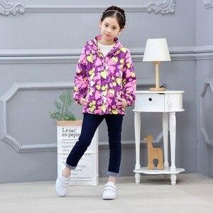 Image 2 - Su geçirmez endeksi 5000mm sıcak çocuk ceket bebek kız ceketler rüzgar geçirmez çocuk giyim çocuk giyim 3 14 yıl eski