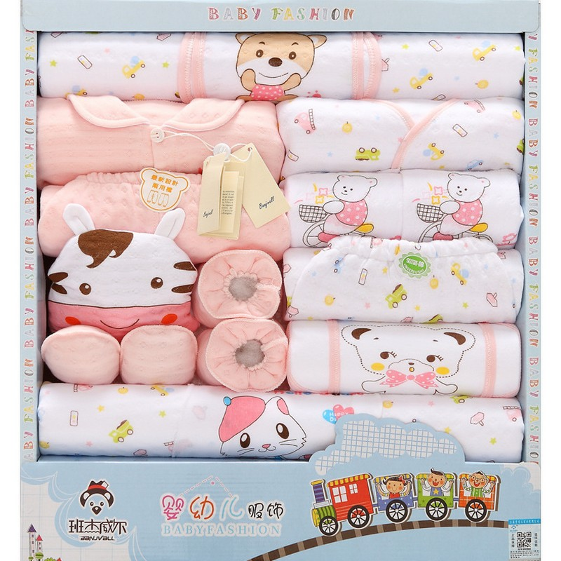 18pcs Baby clothing set unisex baby winter clothes baby girl clothing infant clothing baby pajamas bebe clothes gift set TZ35 mother nest 3sets lot wholesale autumn toddle girl long sleeve baby clothing one piece boys baby pajamas infant clothes rompers