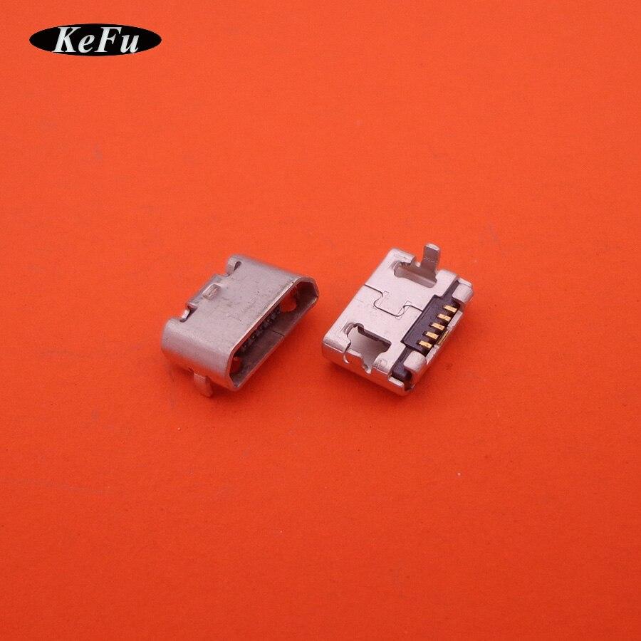 100x Mobile Phone Usb Jack Cable Socket Small Horn Mini
