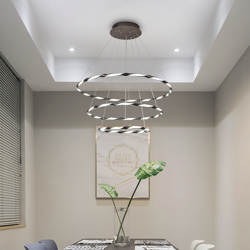 Modern Circle rings LED Pendant Lights indoor Lighting For Living Room Dining room LED Pendant Lamp Hanging LightsModern Circle rings LED Pendant Lights indoor Lighting For Living Room Dining room LED Pendant Lamp Hanging Lights