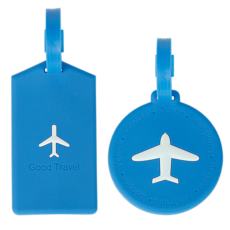 5 wedding gift travel luggage tag silicone checked listing boarding nameplate