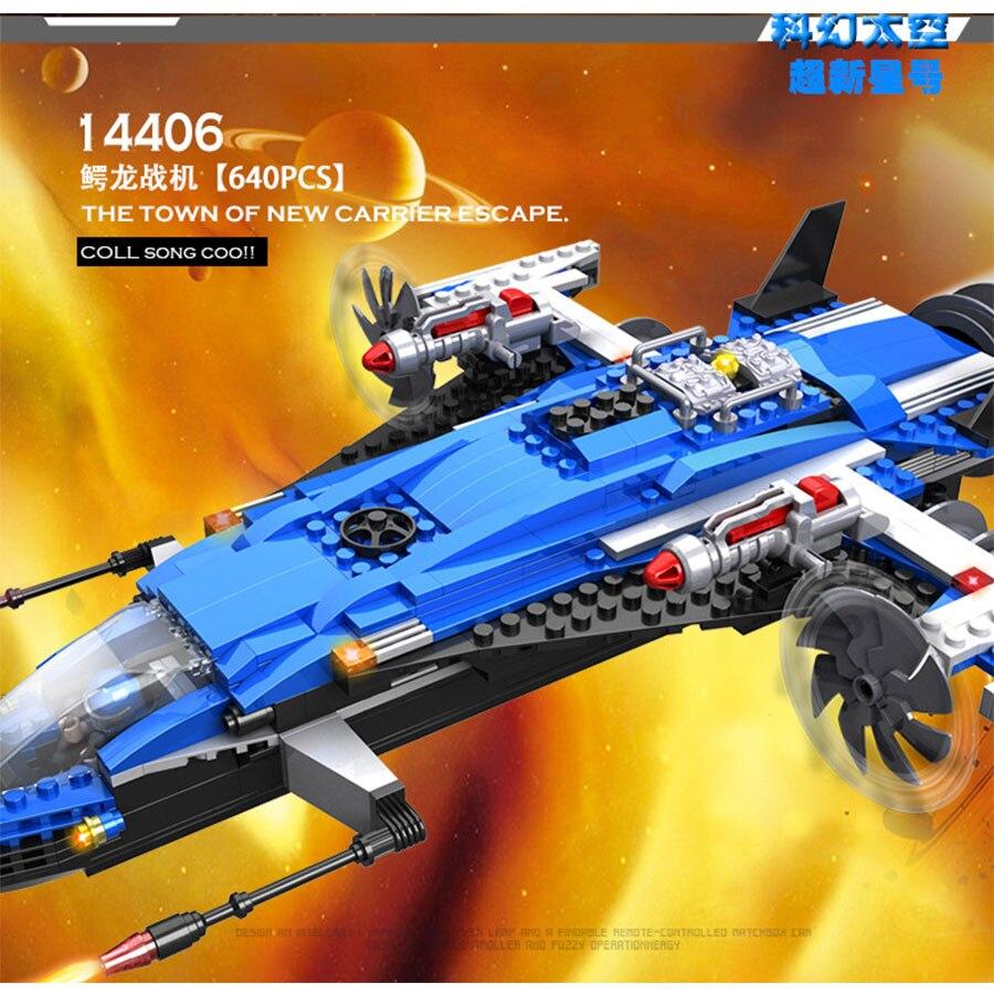 Blocks COGO Spacecraft series Educational Building Blocks Toys For Children Kids Gifts Carrier Ship Star War