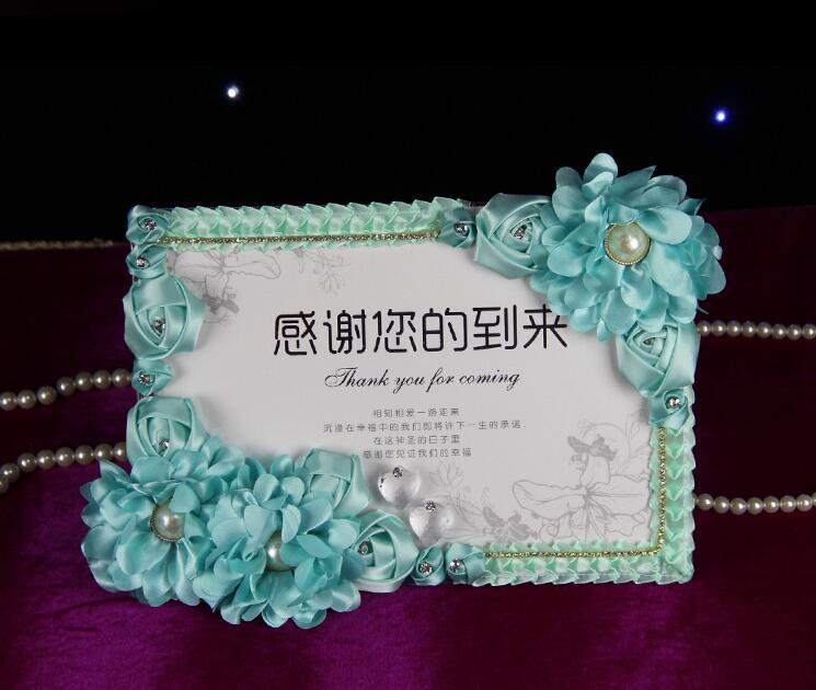 La nouvelle cérémonie de mariage vous remerciera d'être venu à la réception.