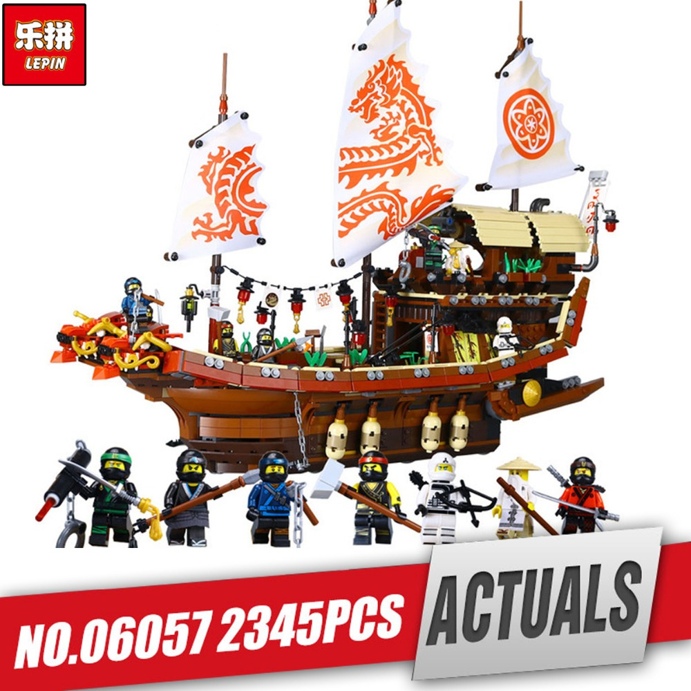 Lepin 06057 Genuine Ship Series The Destiny`s Bounty Set legoing 70618 Building Blocks Bricks Educational Toys As Birthday Gift lepin 36010 genuine creative series the winter village market set legoing 10235 building blocks bricks educational toys as gift