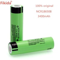 2018 New original NCR18650B 34B 3.7V 18650 3400mAh rechargeable battery lithium battery flashlight battery