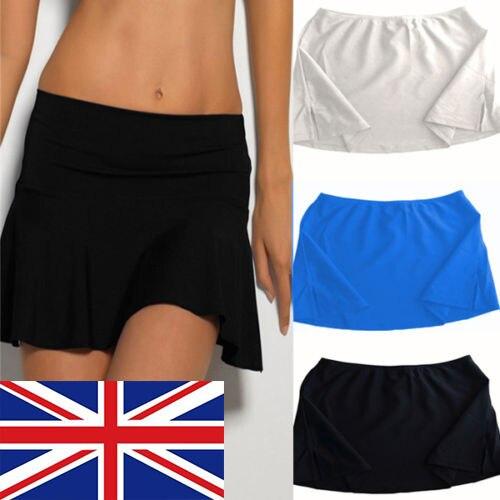 2017 New Summer Sexy Bikini Bottom Tankini Swim Skirt Swimwear Bikini Set Cover Up Beachwear Beach Mini Skirt Solid Color