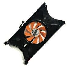 Кулер для видеокарты emtek GTS450 GTX550Ti, VGA Видеокарта, кулер для графической карты, оригинал
