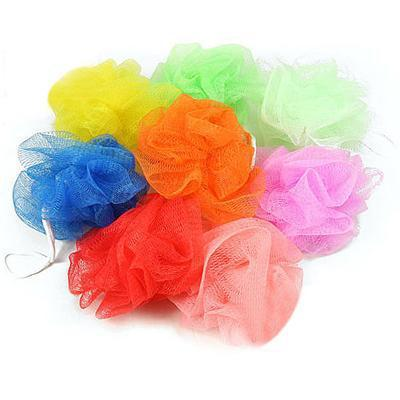 Colored bath sponge bath ball bath flower bath towel ball Cuozao personal cleanliness 20g