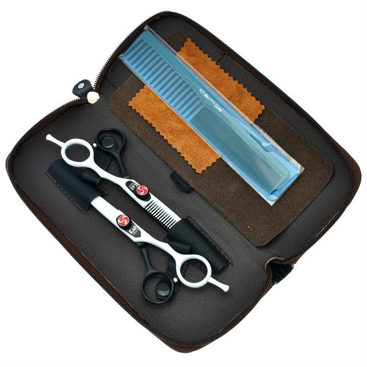 6.0 Kasho Hairdressing Scissors Hair Cutting Scissors Set Salon Thinning Shears Barber Styling Tool, LZS0334