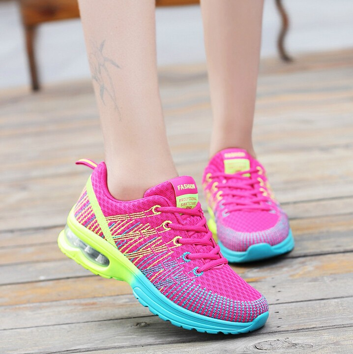 Women's Sneakers Breathable Cushioning Women Running Shoes XYP418 5