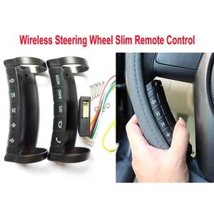Image 2 - ユニバーサル多機能 5/10 ボタンリモコンキーステアリングホイールボタンワイヤレス耐久性のあるステレオ DVD GPS
