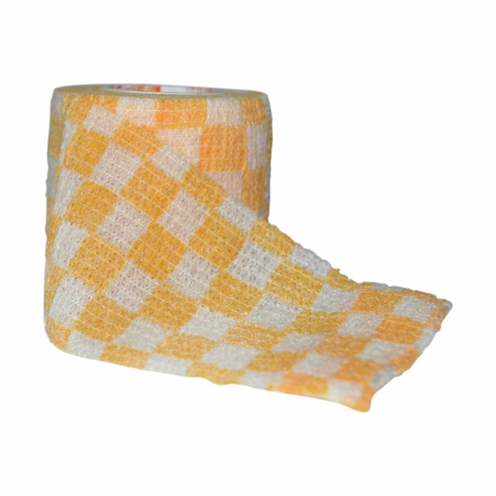 ▻6 unids/lote 5 cm x 4,5 m autoadhesivo elástico no tejido ...