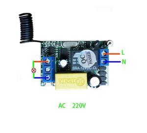Image 4 - 220 v 1 ch RF draadloze afstandsbediening schakelaar 2 ontvanger 1 zender muren afstandsbediening zelf lock modus