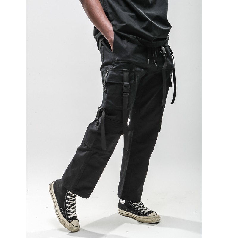 Pantalones Carga Streetwear Hombres Moda Bolsillo Largos De Harajuku Los Algodón Estilo 2019 n4wSxO5O