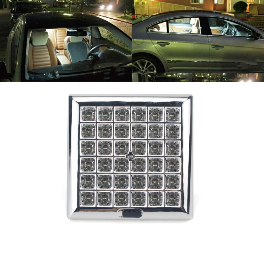 dc12v car reading light dome roof ceiling interior led rooflight