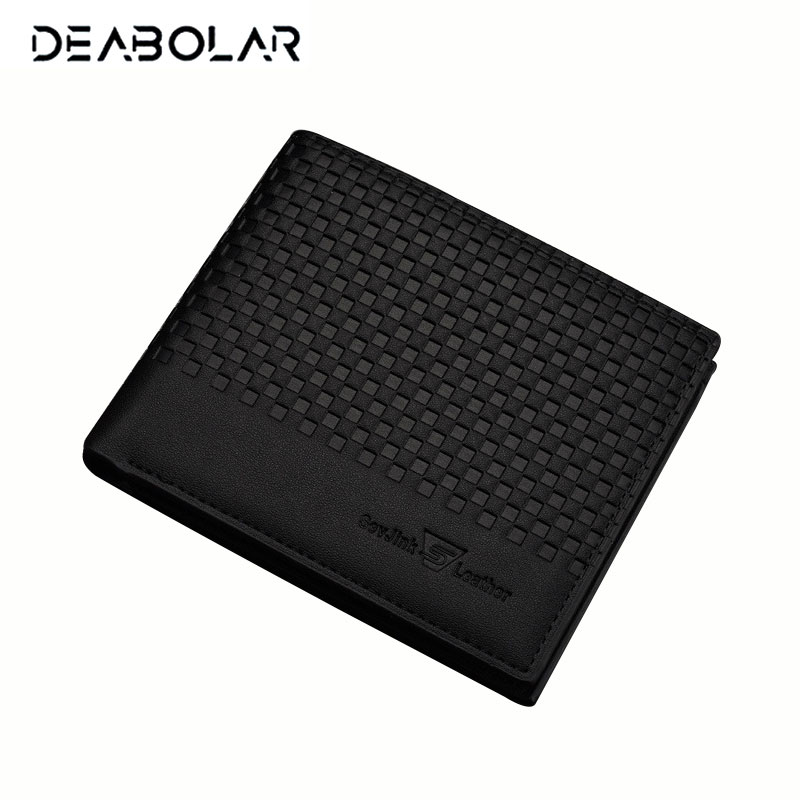 Men's Short Leather Wallets Male Famous Brand Business Purses with Card Holder Wallet for Men frank buytendijk dealing with dilemmas where business analytics fall short