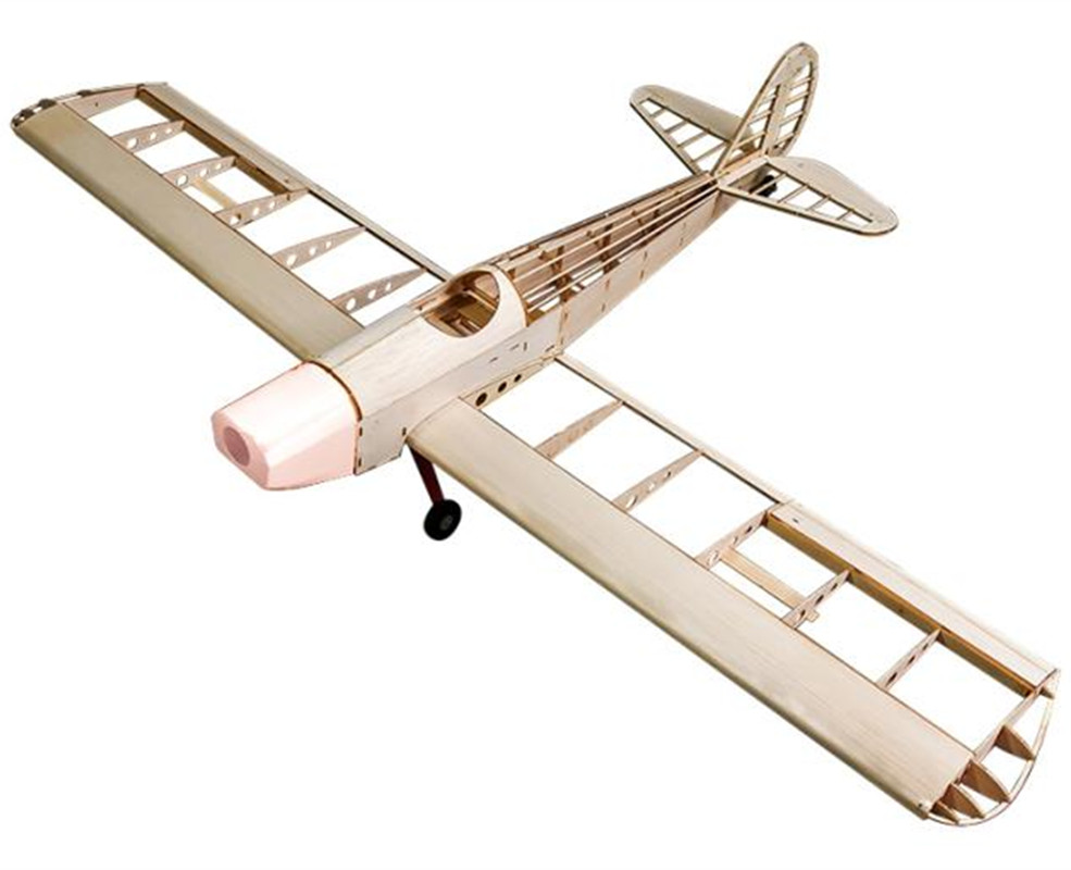 RC Plane Laser Cut Balsa Wood Airplane Spacewalker  Frame without Cover Wingspan 1230mm Balsa Wood Model Building Kit sport scale plane t 6a texan ii rc airplane gas 8 ch 30cc 78 7 balsa wood model