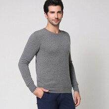 POEM&HEART 2017 New Europe America Autumn Winter Korean O-Neck Men Knitwear Pure Color Cashmere Wool Sweater Men Pullovers Joker