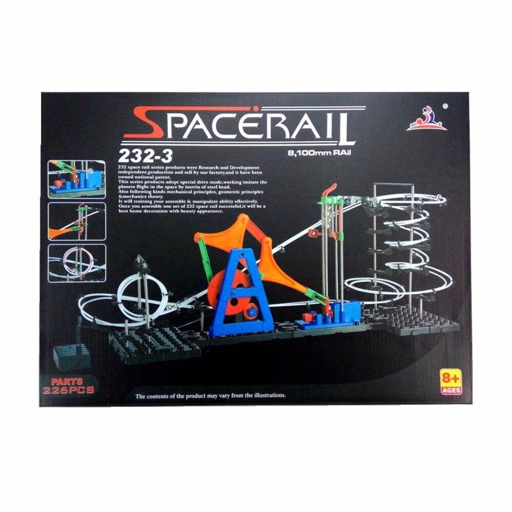 SPACERAIL Creative Series Item 3 232 3 Innovative DIY Toys Model Building Kits Phsical Teaching Or
