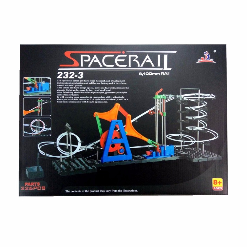 SPACERAIL Creative Series Item 3 (#232 3) Innovative DIY Toys Model Building Kits Phsical Teaching Or Scientific Toys