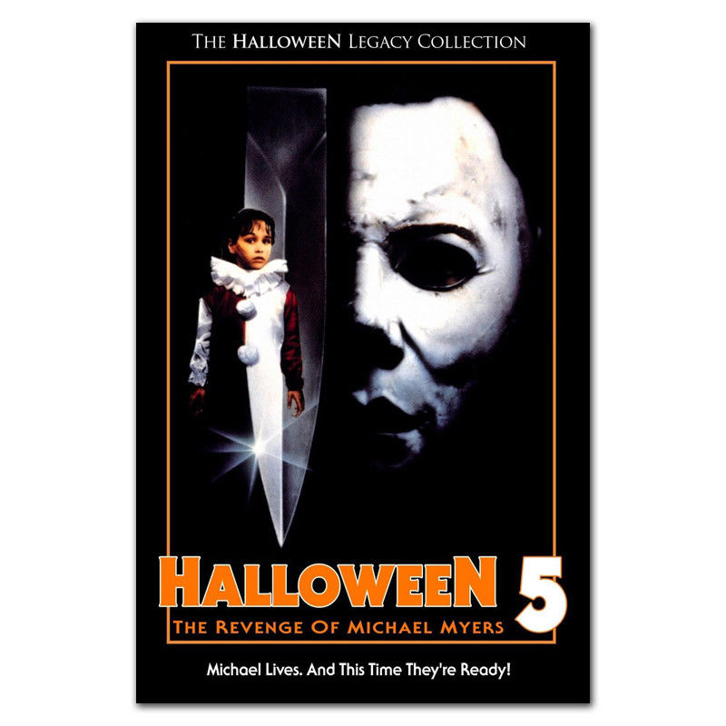 Halloween Michael Myers Horror Movie Vintage Decor Canvas Poster 13x20 24x36inch