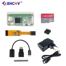 Raspberry Pi Null W 1,3 Kamera + Acryl Fall + 16G Karte + 2A Netzteil + Charing Kabel + OTG Cabe + Mini HDMI + GPIO Header