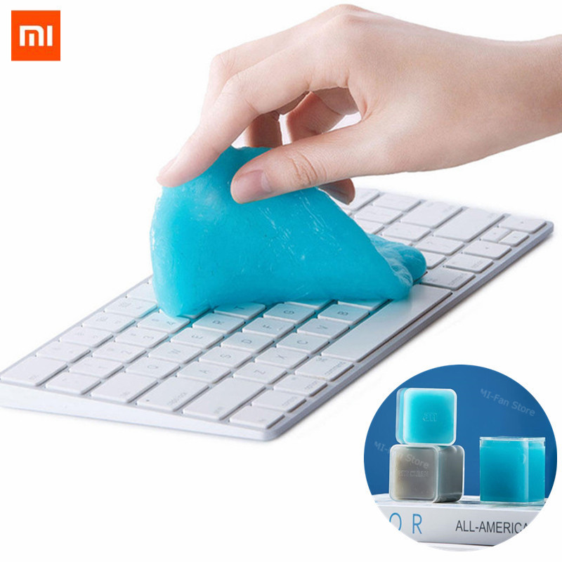 Xiaomi Clean-n-Fresh Computer Keyboard Car Cleaning Rubber Antibacterial Gel Sillicone Clean Glue Magic Washing Mud Tool Dust Cl(China)
