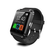 U8บลูทูธสมาร์ทนาฬิกาข้อมือนำแบรนด์โทรศัพท์MateสำหรับA NdroidและIOSกีฬาติดตามการออกกำลังกายเตือนข้อความ