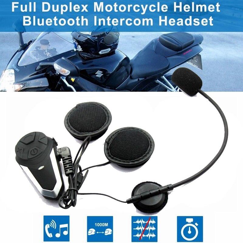BT S3 1000M Bluetooth Intercom Motorcycle Helmet Interphone Headset BT Intercomunicador Wireless Bluetooth Moto Headset Intercom