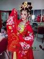 Wangshuai крест-Пол Тан костюм ханьфу костюм императрицы пьян императрица Тан Ян (полный комплект)