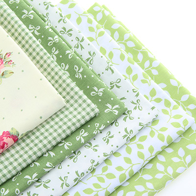 Skriv ut Twill Cotton Fabric Patchwork för Syning Quilting Bundle Cloth Telas Handgjorda Vävnader Scrapbooking CC004 6pcs 40x50cm