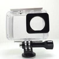 Tekcam 40M Waterproof Case Diving Housing For Xiaomi Yi Lite Xiaomi Yi 2 4k Yi 4k