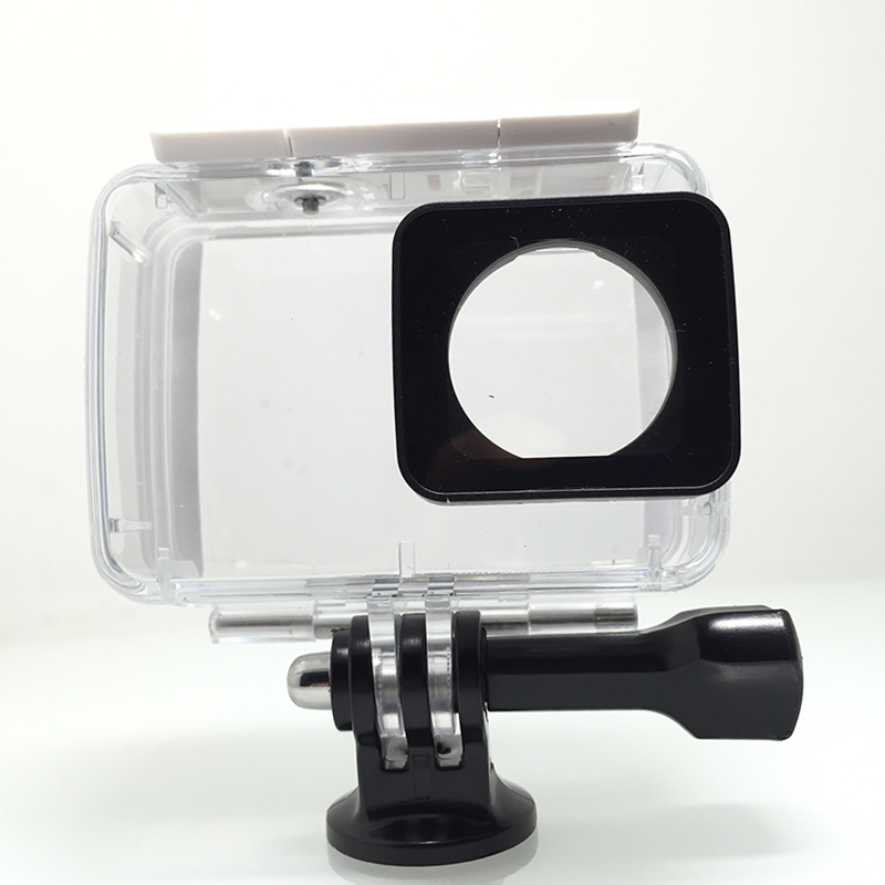 Tekcam 40M Waterproof Case Diving Housing for Xiaomi Yi Lite/Xiaomi yi 2 4k/yi 4k Plus xiaomi yi accessories видеокамера экшн yi 4k комплект с аквабоксом черный