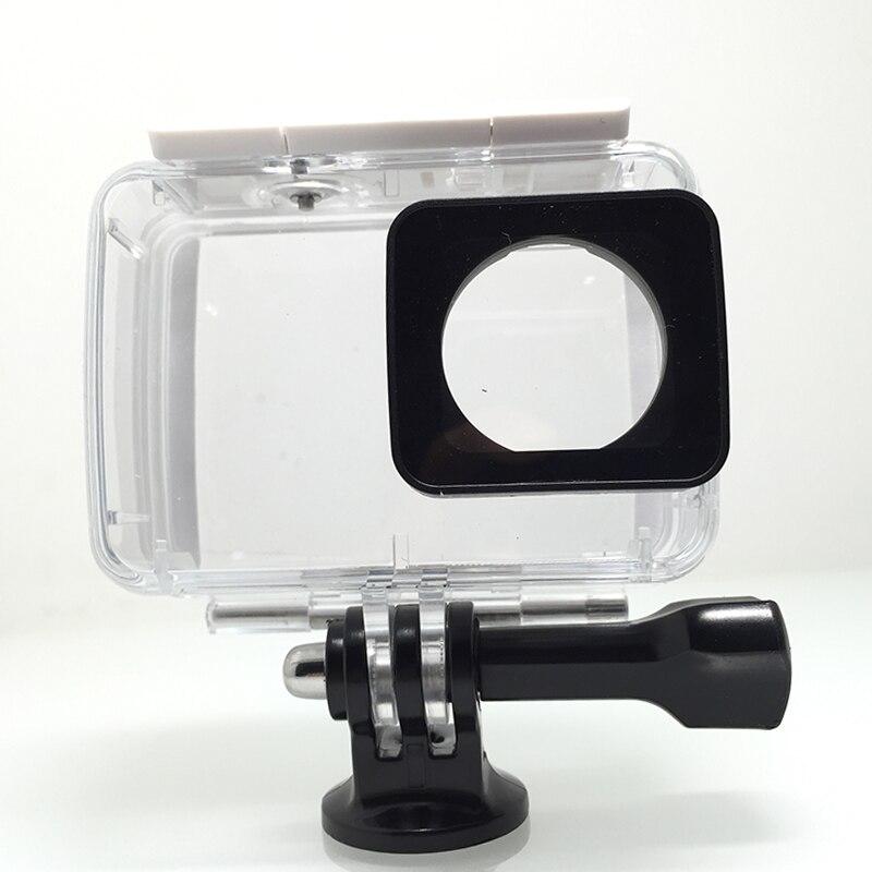 Tekcam 40M Waterproof Case Diving Housing for Xiaomi Yi Lite/Xiaomi yi 2 4k/yi 4k Plus xiaomi yi accessories