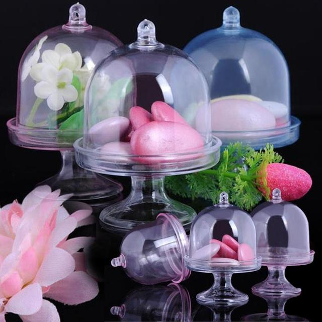 12Pcs Candy Box Weeding Favor Chocolate Container Storage Min Cake Stand Gift Party Supplies