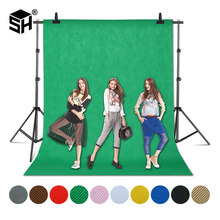 1.6X4/3/2M Green Screen Photo Background Photography Backdrops Backgrounds Studio Video Nonwoven Fabric Chromakey Backdrop Cloth(China)