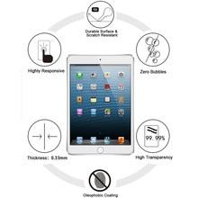 Anti-Fingerprint Tempered Glass Screen Protector for iPad