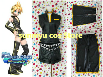 Free Shipping!VOCALOID Kagamine Len Pan kissh Cosplay Costume,Size customizable,Halloween Performance