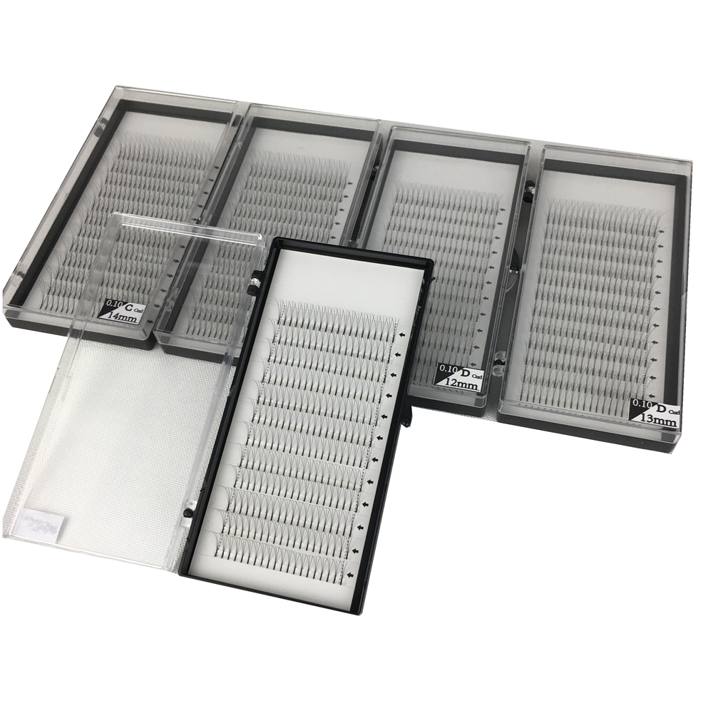 5 tray high quality volume 3D eyelashes