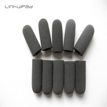 Dense Foam Microphone Windscreen, mic sponge cover 10mm inner diameter & 36mm length 10 pcs /lot