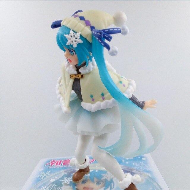 Аниме Фигурка Хацунэ Мику в зимней одежде 15 см 1