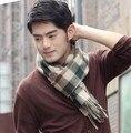 Los Hombres de moda de Invierno Bufandas de Cachemira Chales Bufanda Hombres Bufanda Borla 175*38 cm Envío Libre